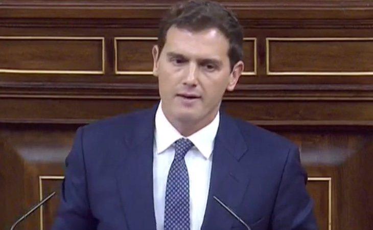 Rivera: 'Usted, señor Sánchez, tiene a los españoles sectarizados y enfrentados'