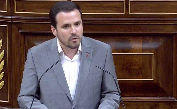 Alberto Garzón (IU): 'No entendemos cómo puede pedir la abstención de la derecha cuando abandonó este Parlamento en el pasado porque se la ...