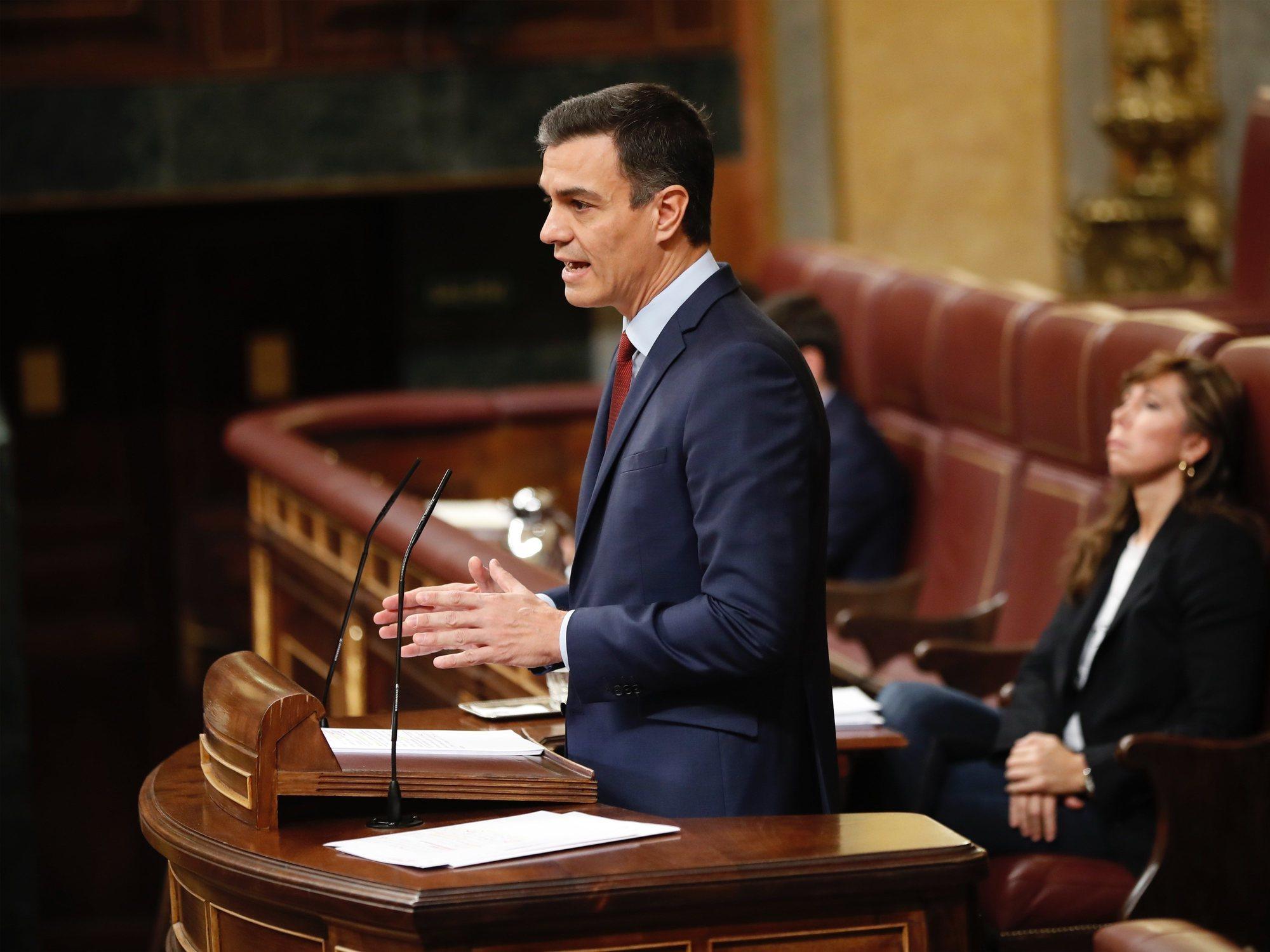 Así te hemos contado la sesión de investidura de Pedro Sánchez