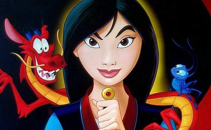 Disney estrenó 'Mulán' en 1998
