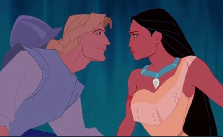 Disney estrenó 'Pocahontas' en 1995