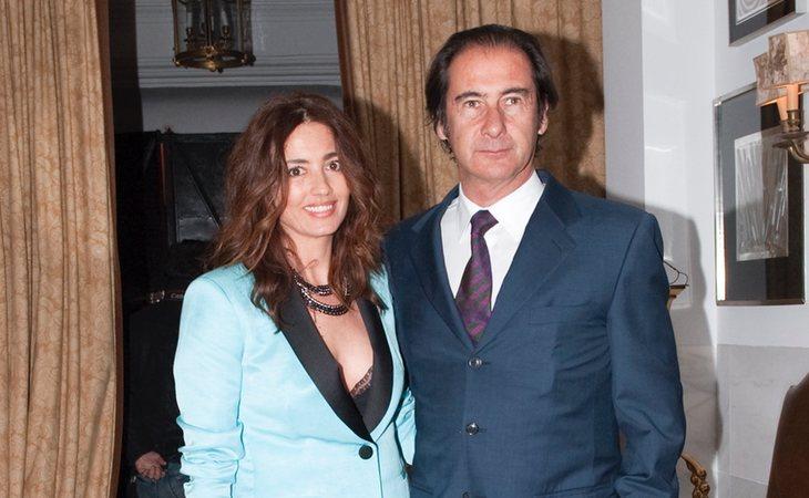 El ex militar y empresario, en una foto de archivo junto a su ex mujer Jose Toledo