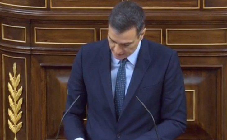 Pedro Sánchez recuerda a Rufián que votaron contra de los presupuestos más sociales