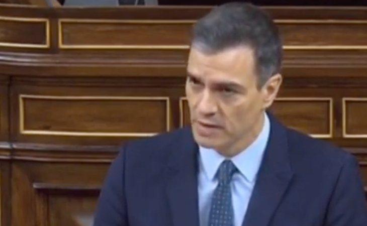 Sánchez, contundente: 'El Gobierno de España defenderá el orden constitucional, la soberanía nacional'