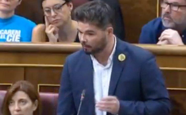 Rufián espera un acuerdo entre PSOE y UP: