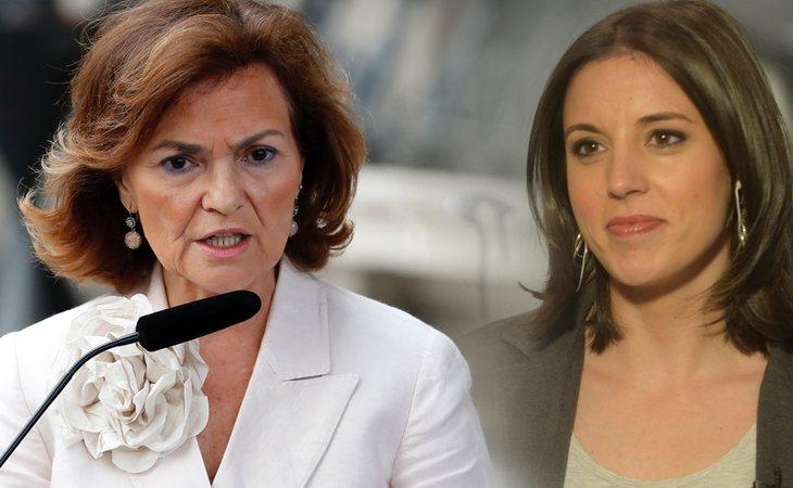 Carmen Calvo revela que aceptan a Irene Montero en un 'cargo importante'