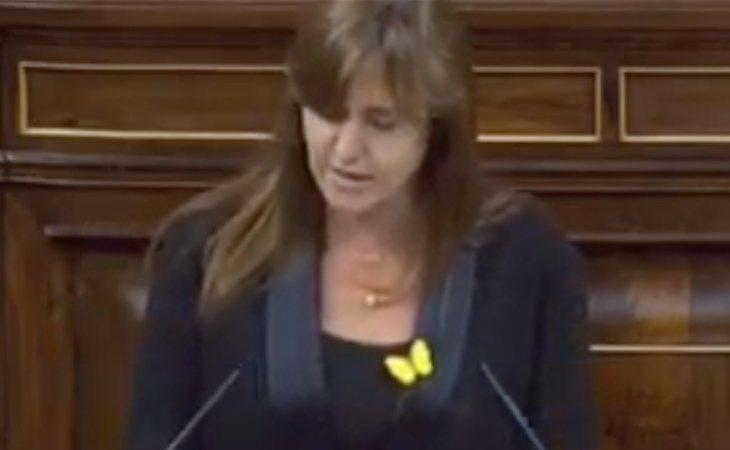 Laura Borràs (JxCat) avanza que votarán NO a la investidura de Pedro Sánchez
