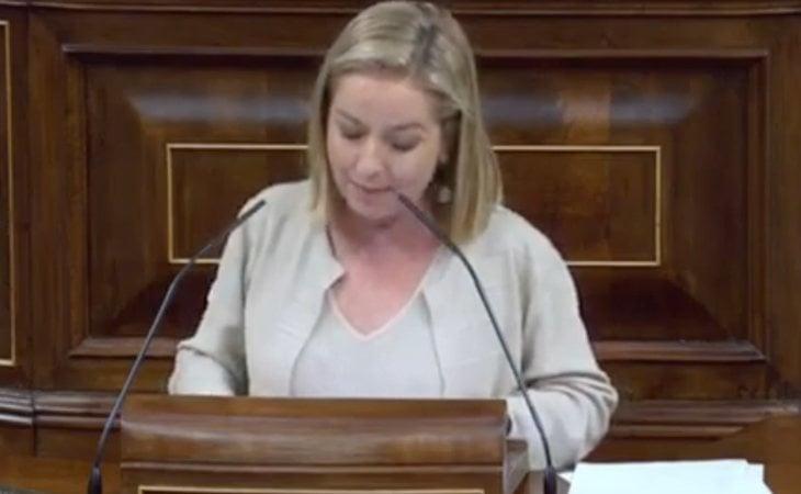 Ana Oramas (Coalición Canaria) ataca a Ciudadanos:
