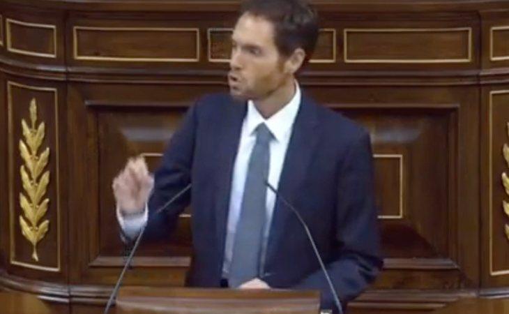 Sergio Sayas (Navarra Suma): 'El nacionalismo solo quiere destruir España, no puede ser un compañero de viaje'