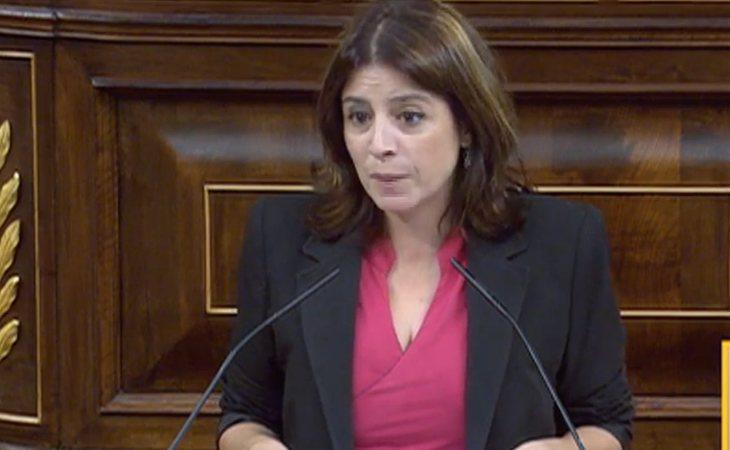 Adriana Lastra (PSOE): 'No hay una alternativa viable a Pedro Sánchez presidente del Gobierno'
