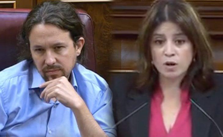 Adriana Lastra avisa a Pablo Iglesias: 'O gobierno o bloqueo'