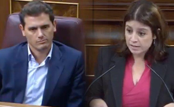 Rapapolvo de Lastra a Rivera: 'Hay que combatir la homofobia y el machismo, pero han vendido el alma a la ultraderecha'