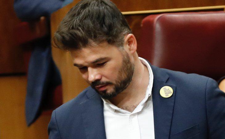 Gabriel Rufián vota NO a la investidura de Pedro Sánchez