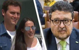 """Serrano, líder de VOX en Andalucía, es el abogado detrás del """"desahucio"""" de Rivera y Malú"""