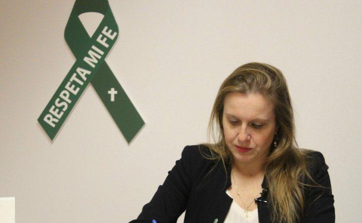 Polonia Castellanos es la presidenta de la Asociación Española de Abogados Cristianos