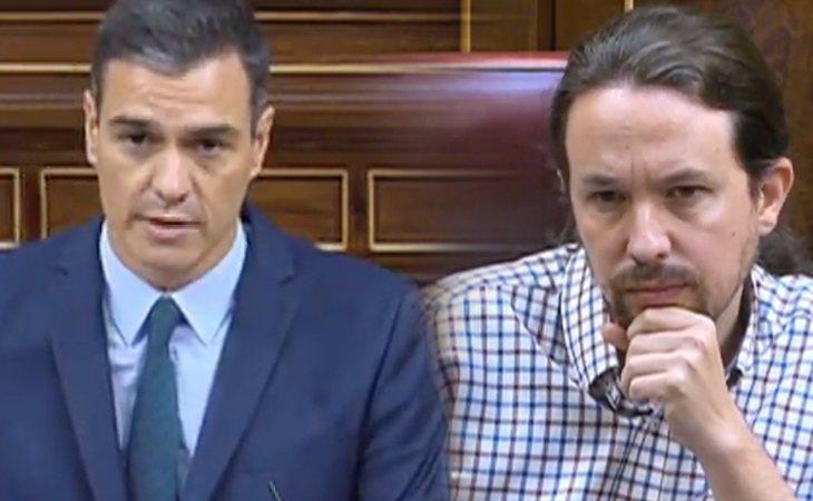 Pedro Sánchez se dirige a Pablo Iglesias: