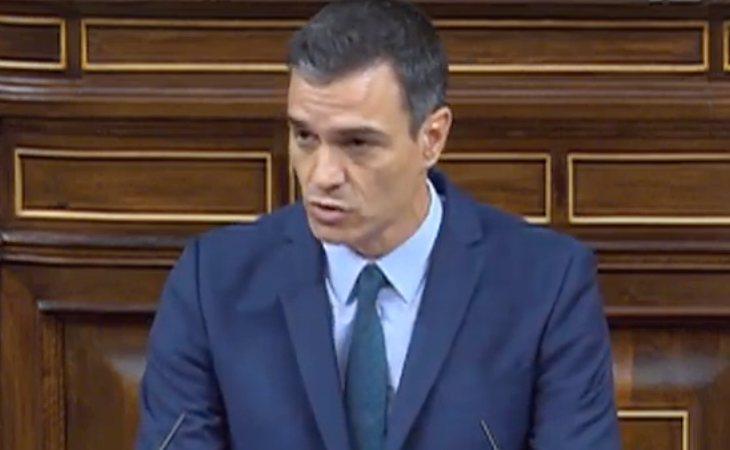Pedro Sánchez, contundente: