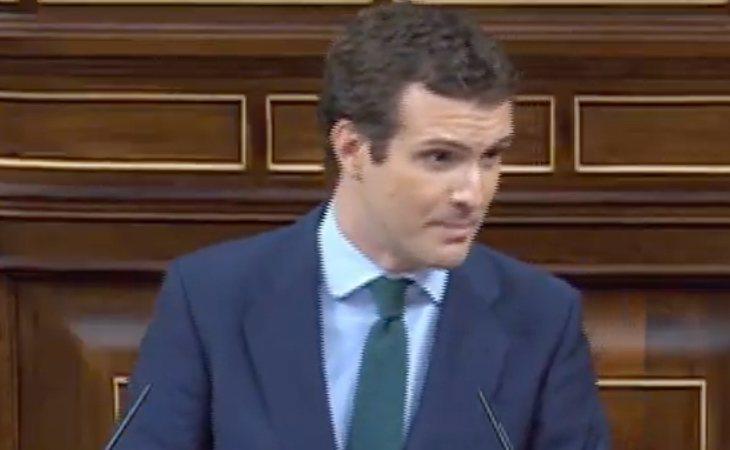 Pablo Casado, a Pedro Sánchez: