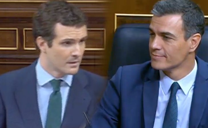 Pablo Casado ataca a Pedro Sánchez: