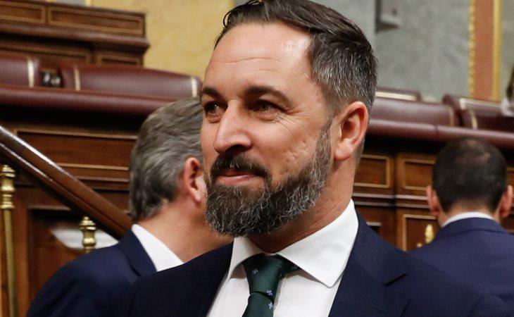 Santiago Abascal vota NO a la investidura de Pedro Sánchez