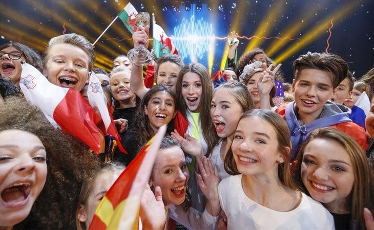 Representantes de Eurovisión Junior 2018
