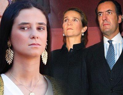 La Infanta Elena y Jaime de Marichalar se unen ante la rebeldía de Victoria Federica