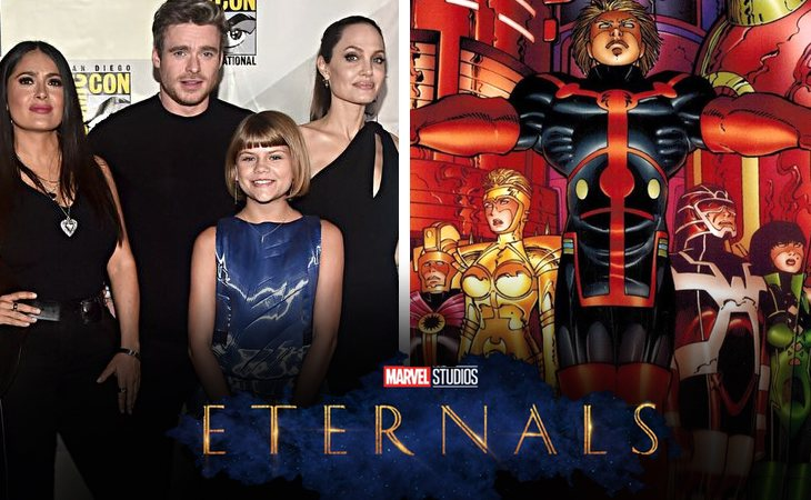 'Eternals', protagonizada por Salma Hayek, Richard Madden y Angelina jolie
