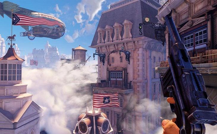 'BioShock Infinite', la tercera entrega de la saga, se sitúa en una ciudad flotante