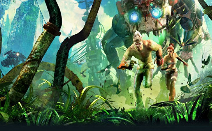 Las máquinas han esclavizado a los humanos en 'Enslaved: Odyssey to the West'