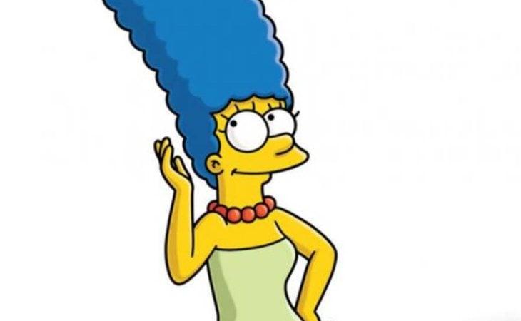 Marge, un icono de 'Los Simpson' por su característico peinado