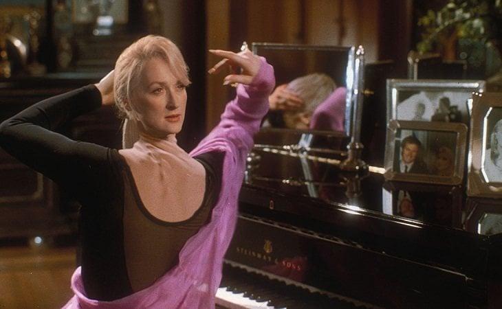 Meryl Streep y su cuello roto