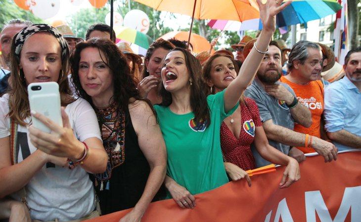Ciudadanos, en el Orgullo LGTBI de Madrid