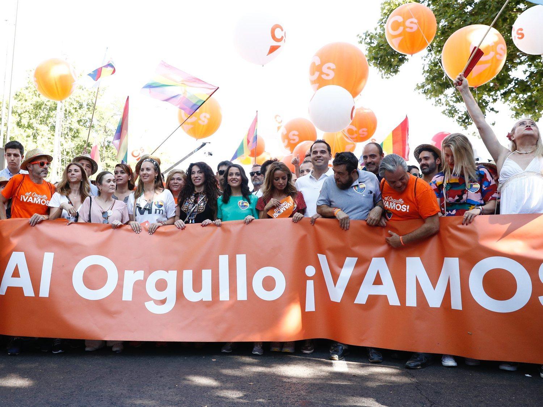 """La Fiscalía de Madrid abre diligencias por los """"ataques"""" a Ciudadanos en el Orgullo LGTBI"""