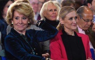 Anticorrupción pide imputar a Esperanza Aguirre y Cristina Cifuentes en Púnica