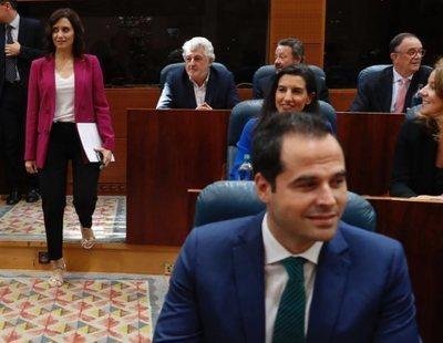 Cs acepta las exigencias de VOX para que Díaz Ayuso sea presidenta de la Comunidad de Madrid