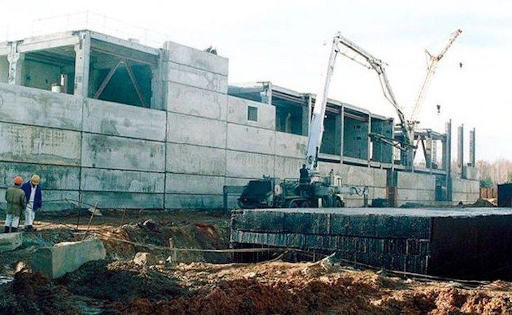 La planta de Mayak (Rusia) en 2010