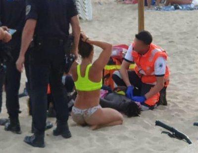 """Un niño rescatado en una playa de Palma: """"Pensé que no ibas a salvarme por ser negro"""""""