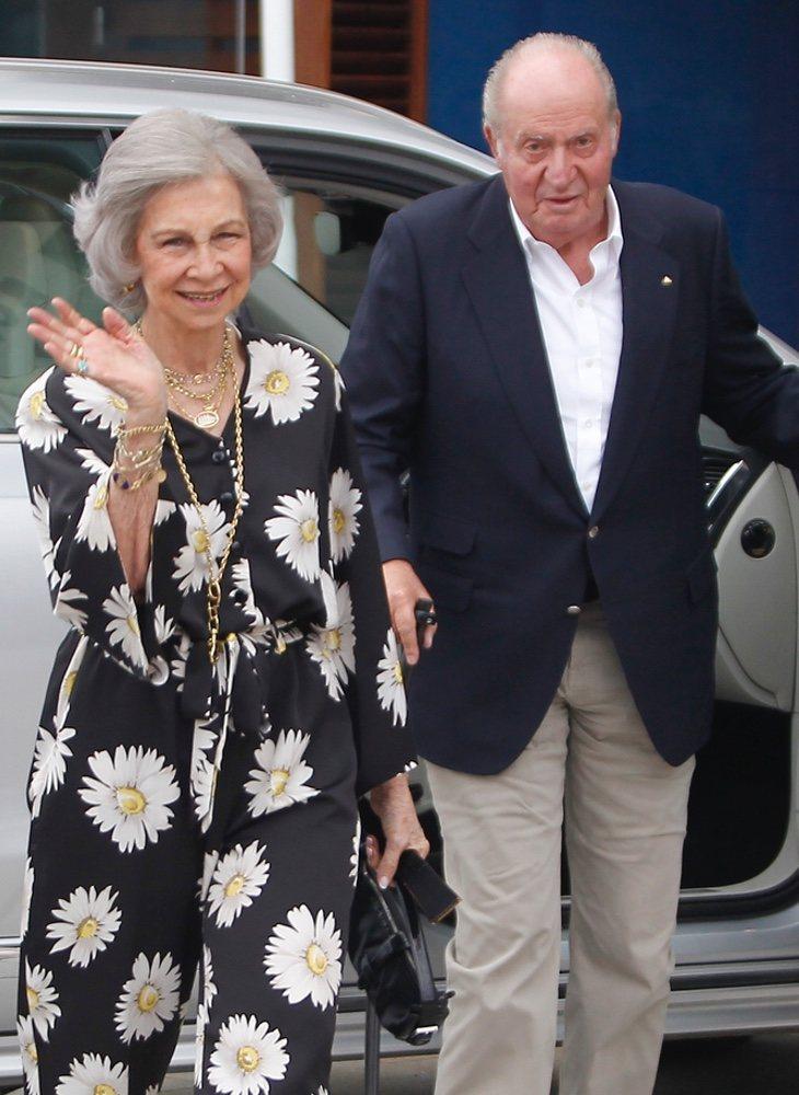 Ambos sorprendieron juntos en Sanxenxo, de camino a una regata a bordo del Juan Sebastián de Elcano