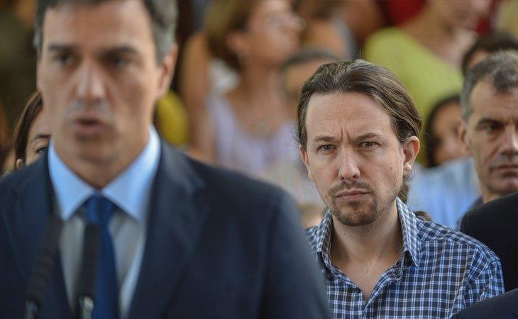 Pablo Iglesias perdió votos después de negarse a investir a Pedro Sánchez