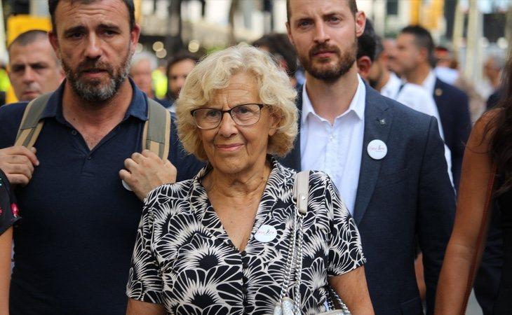 Carmena podría presentarse en una lista independiente avalada por Errejón o encabezando una versión nacional de su partido