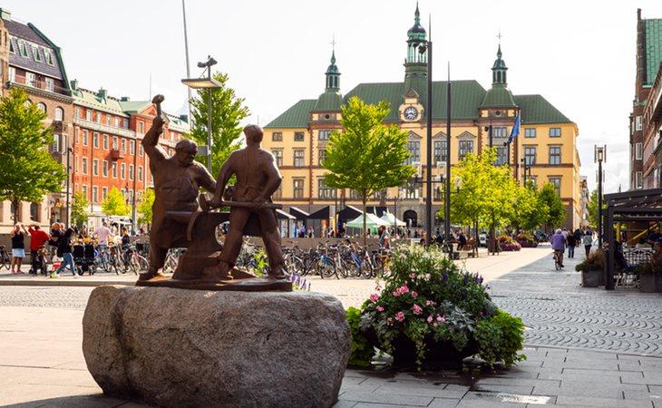 Eskilstuna es la primera ciudad sueca en sancionar a aquellos indigentes que no dispongan del permiso correspondiente