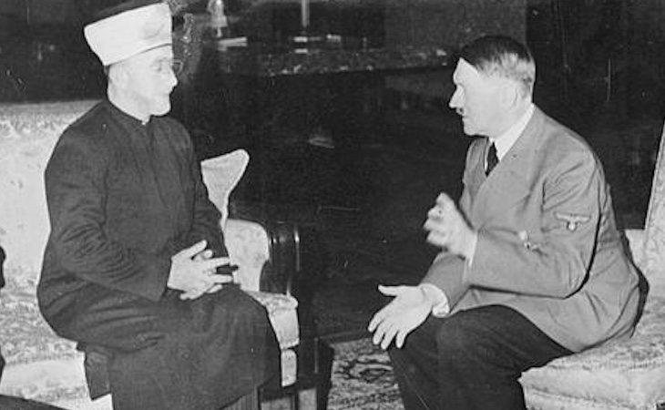 El Gran Muftí junto a Hitler