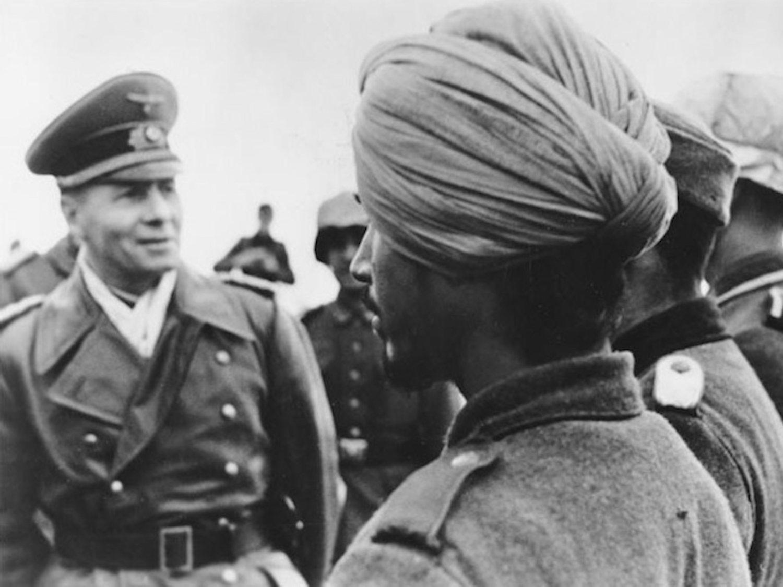 La legión de árabes nazis que luchó junto a Hitler