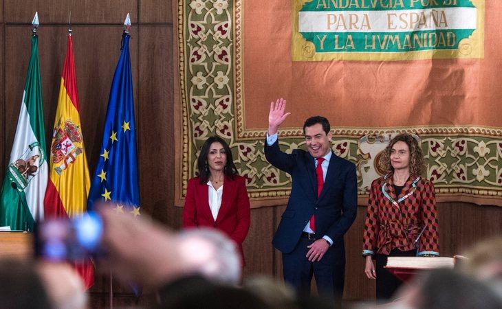 El PP de Moreno Bonilla y C's han empleado en dos meses el dinero de un año en exclusivos banquetes