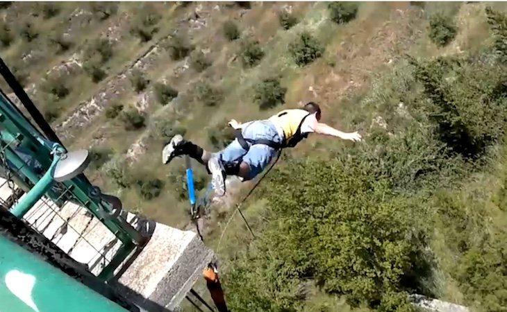 El youtuber compartía sus saltos de riesgo en la plataforma