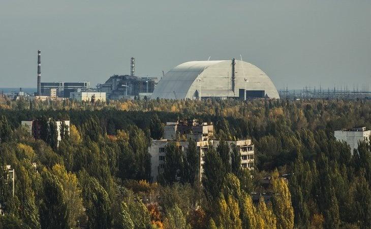 El sarcófago de Chernóbil encierra múltiples riesgos