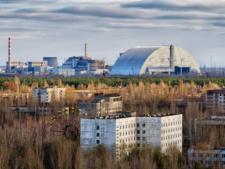 El sarcófago nuclear de Chernóbil se encuentra al borde del colapso