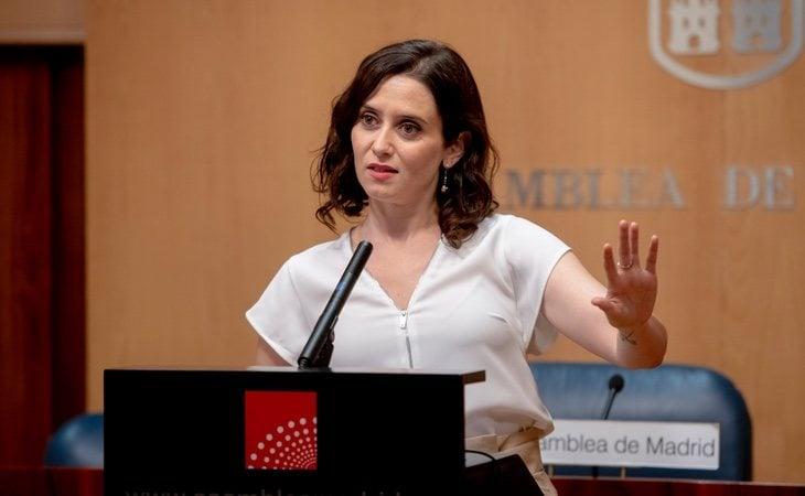 Ayuso recibía más de 4.000 euros mensuales en uno de los 'chiringuitos' de Esperanza Aguirre