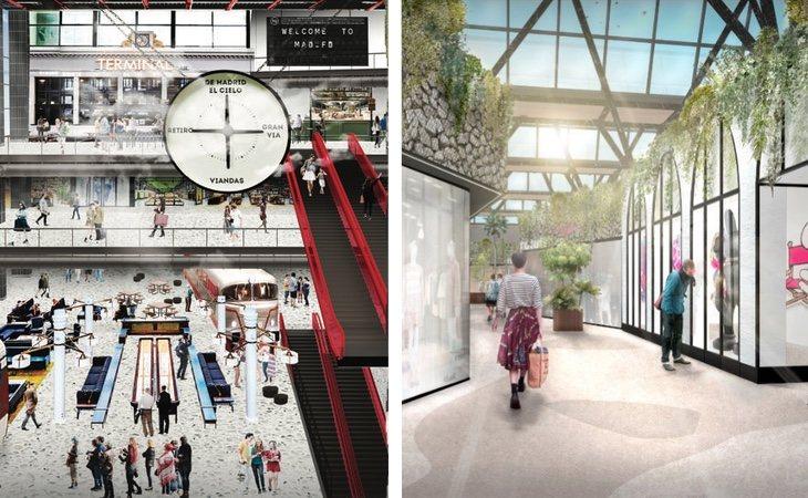 Así será el futuro MAD-FD, el nuevo centro que se abrirá en el almacén clausurado de Arroyosur