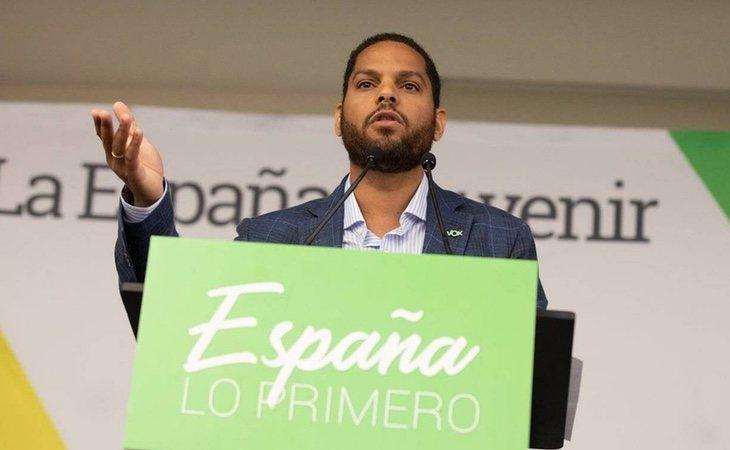 El diputado de VOX por Barcelona, Ignacio Garriga
